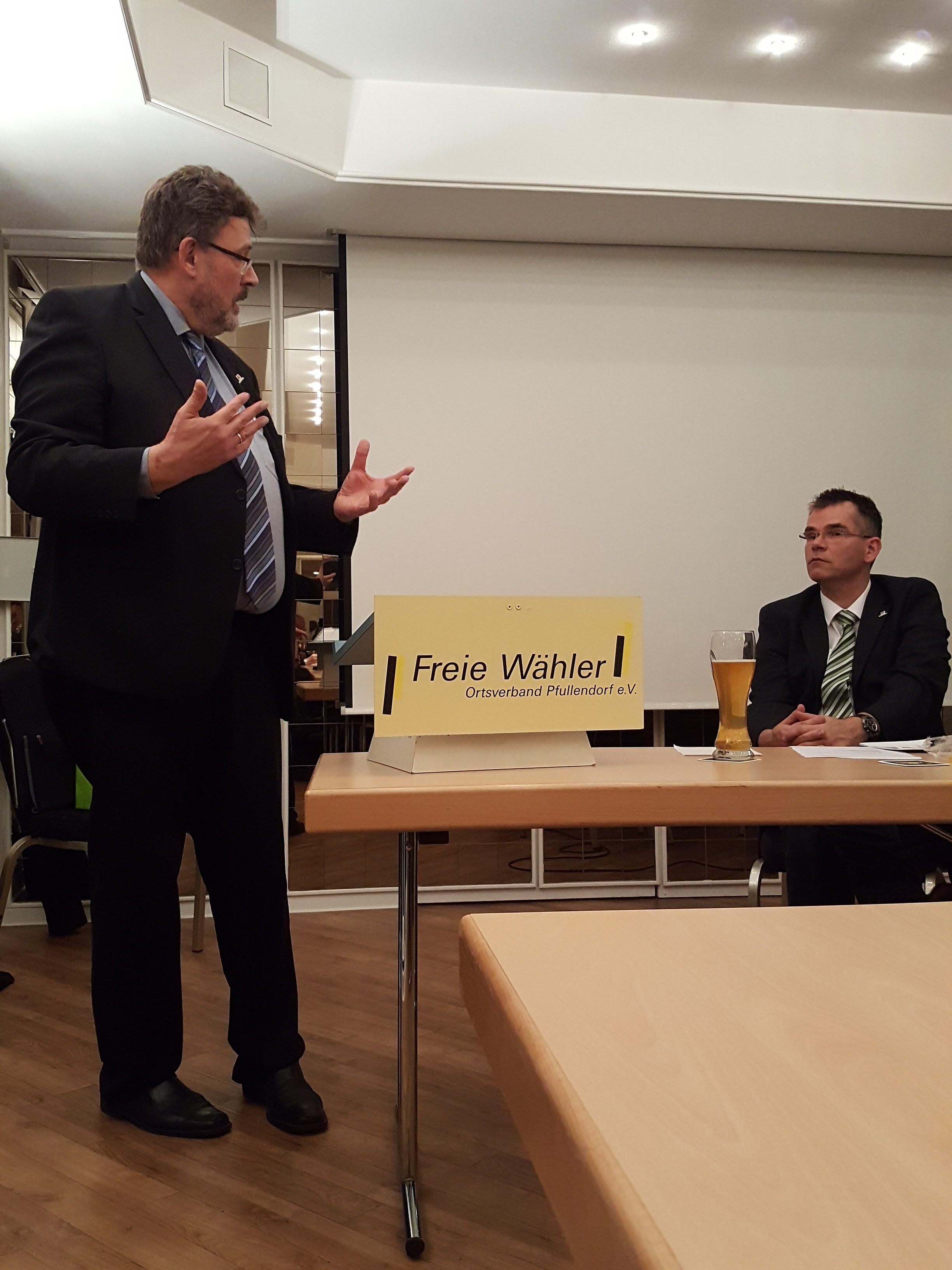 Generalversammlung der Freien Wähler in Pfullendorf › Freie Wähler ...
